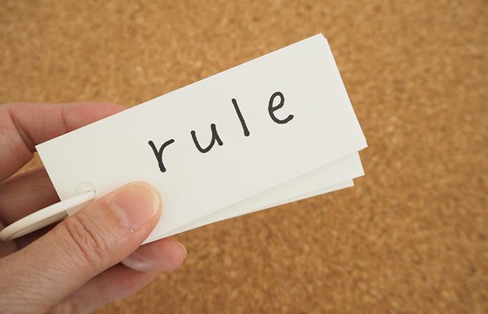会社名を決める際のルール